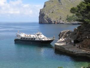 Vuelta isla-Barca de Sa Calobra
