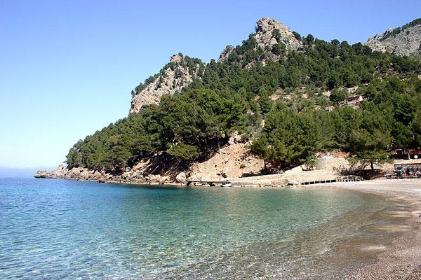 Mallorcas Strände - Cala-Tuent