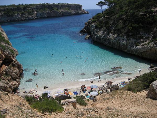 Calo-des-Moro Mallorcas Strände