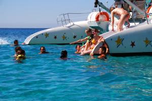 Ausflug auf Mallorca im Katamaran