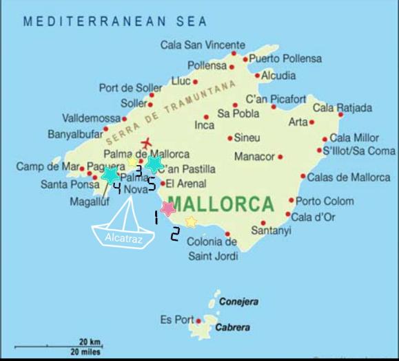 Mallorca Segeln Sehenswürdigkeiten