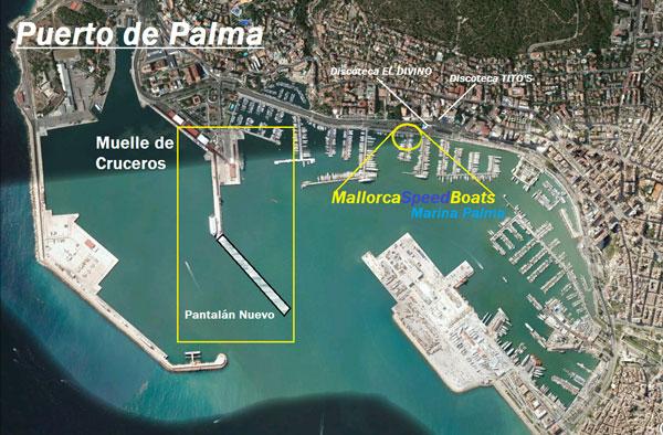 Mallorca Speedboot Tour Lage
