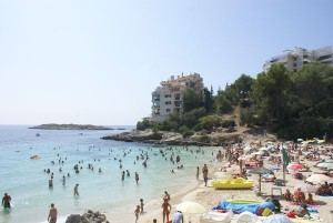 Strand von  Illetas