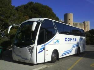 Reisebus Schloss Bellver